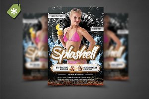 Splashell Flyer Template