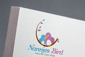 Nannies Bird Logo