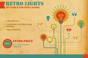 Retro Lights Strategic Business PP
