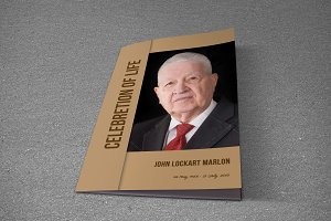 Funeral Program Template-T582