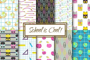 """School is Cool"" Pattern Set"