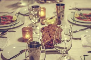 Intimate dinnerparty