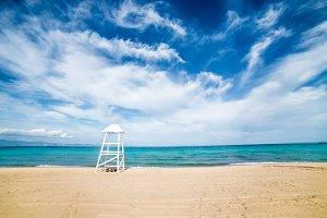 Perfect beach in Halkidiki, Greece