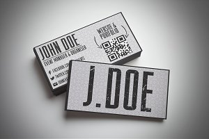 Grungy Business Card