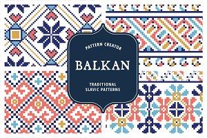 Balkan Pattern Creator