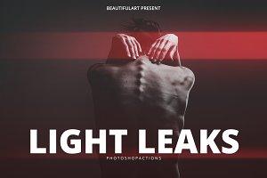 Pro Light Leaks Photoshop Action