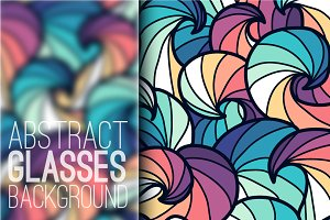 abstract art ornament background