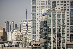 Dwelling area in Seoul, South Korea