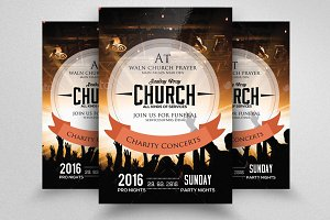 Concert Church Flyer