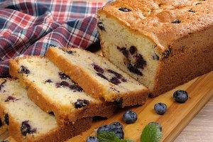 Summer pie  blueberry