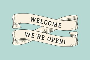 Welcome, we're open!