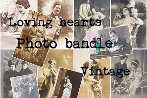 Loving hearts photo bandle