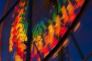 Ferris Wheel at Night