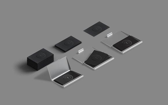 Spot uv business card mockup case product mockups creative market colourmoves
