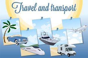 Designs set for travel and transport