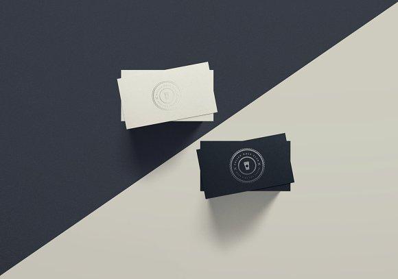 Download Spot UV Business Card Mockup - DUO