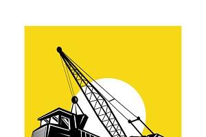 Boom Crane Loading Mining Truck