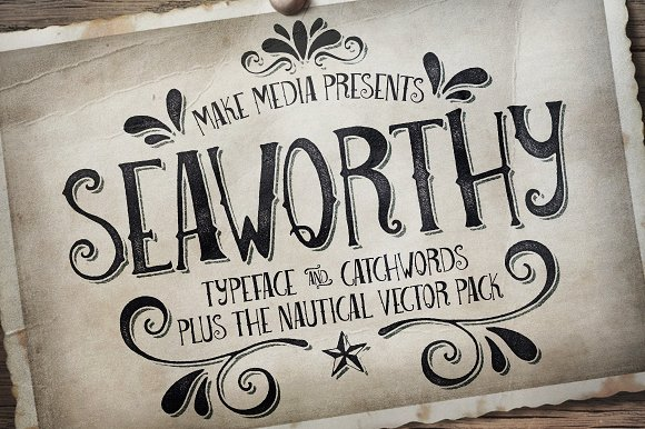 Download 25 Nautical Fonts Inspired by Sailors, Sea, and the Navy ...