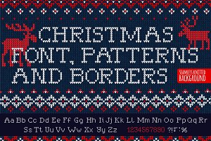Knitted FONT & patterns (UL)