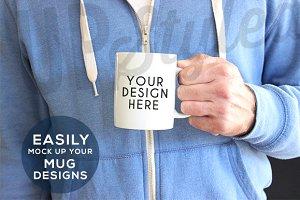 F198 Coffee Mug Stock Photo