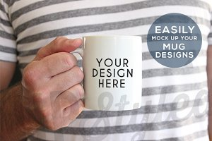 F196 Coffee Mug Stock Photo