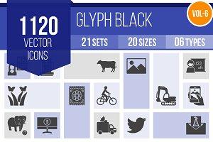 1120 Glyph Icons (V6)