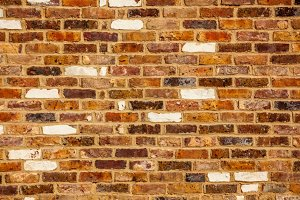 Red & orange brick wall background