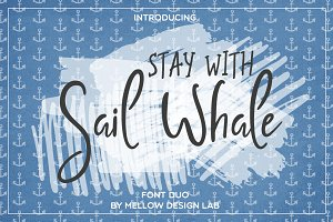 Sail Whale [Font Duo]