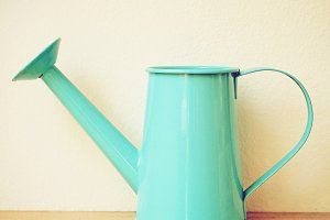 Retro watering can