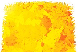 Grunge autumn background