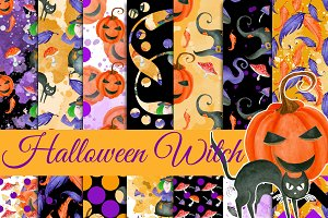 Halloween witch patterns