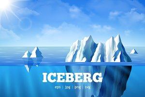 Iceberg Realistic Vector Set