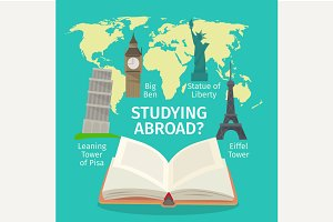 Abroad studying