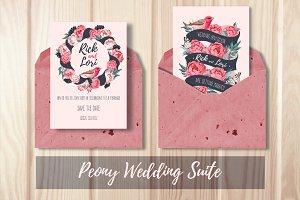 Peony Wedding Suite