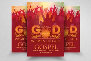 Gospel Church Flyer Template