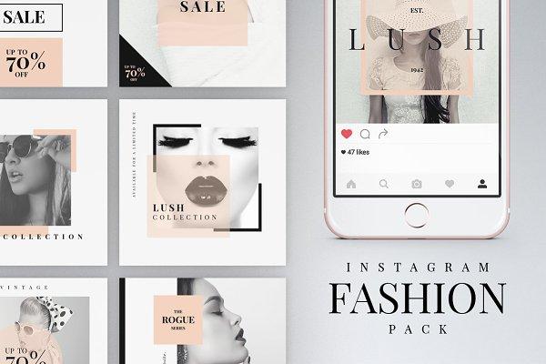Instagram Fashion Pack