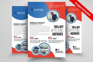 Elegant Business Flyer Psd Template