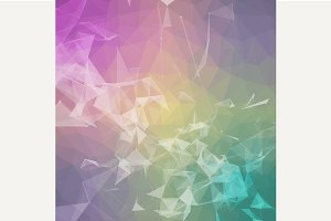 Triangulated geometric background