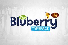 Bluberry Typeface