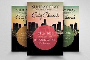 The City Revival Church Flyer