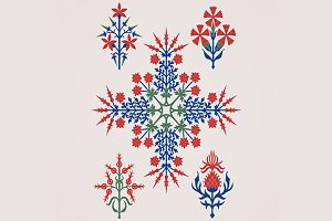 Floriated ornament - pattern