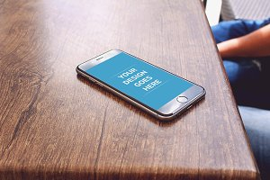 iPhone Display Mock-up 13