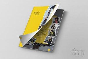 12-page presentation brochure