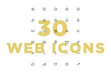 30 Web Icons