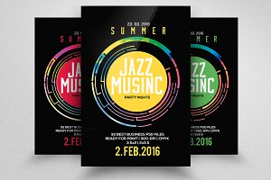 Jazz Flyer & Poster Template