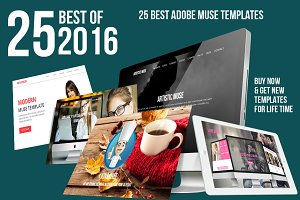 2016 Best Adobe Muse Bundle