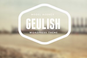 Geulish Onepage Model Agency Theme