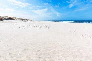 Dunes over the Baltic Sea, Poland.