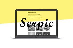 Serpic Responsive HTML Theme