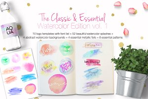 The Classic & Essential Watercolor